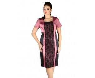 Платье 151 розовое Novita
