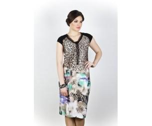 Платье 170 леопард Novita