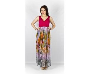 Платье 195 розовое Novita
