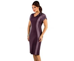 Платье 226 черничное Novita