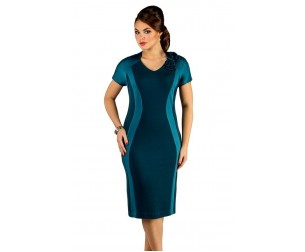 Платье 226 изумрудное Novita