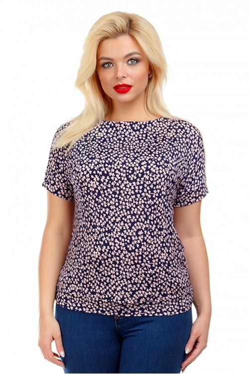 Блузка с атласными лентами Liza-fashion