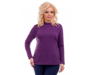 Свитер пурпурного оттенка Liza-fashion