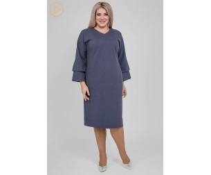 Платье 1148 синее Luxury Plus
