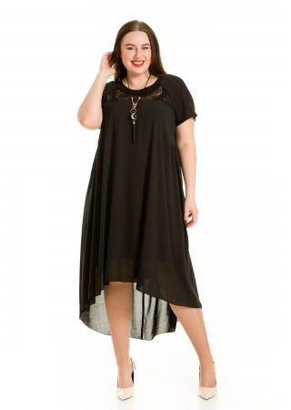 Платье 731 черное Luxury Plus