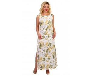 Платье льняное длинное Liza-fashion