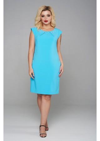 Платье голубое Mari-Line
