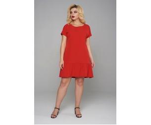 Платье 1893 красное Mari-Line