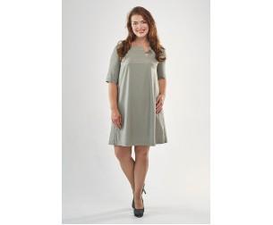 Платье 2070 оливковое Mari-Line