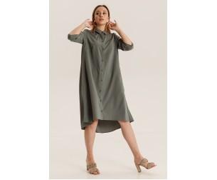 Платье 2340 т.оливковый Mari-Line