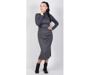 Платье серое Avigal