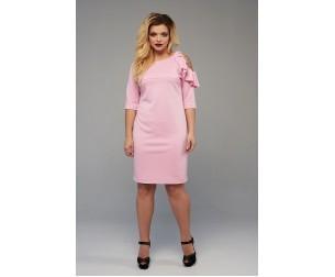 Платье 1712 розовое Mari-Line