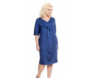 Платье 736 синее Novita